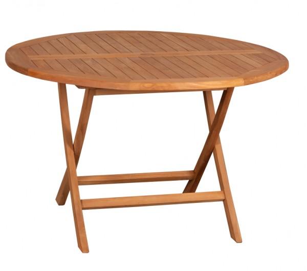 Tisch Woodie 120 cm rund Teak