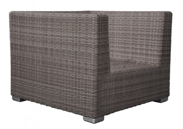 Adriatico Loungesessel 6 mm taupe grey