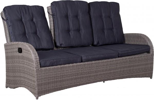 Relaxfunktionsbank Juan Lounge 3- er 8 mm sm. gr.