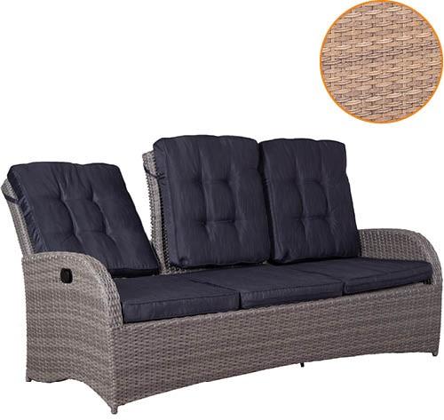Relaxfunktionsbank Juan Lounge 3- er 8 mm sp. br.