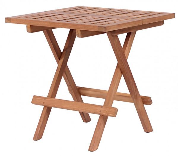 Beistelltisch Woodie Teak 50x50cm