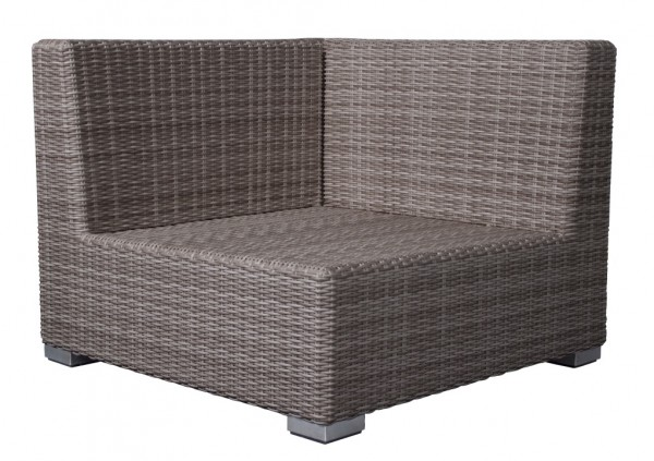Adriatico Loungesitzecke 6 mm taupe grey