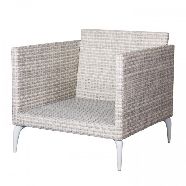 Orchid Loungesessel 7mm white wash
