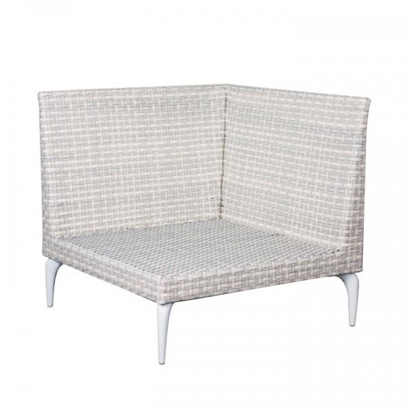 Orchid Loungesitz Eckelement 7mm white wash