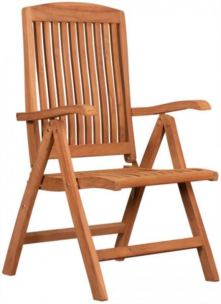 Hochlehner Woodie mit Armlehne Teak -