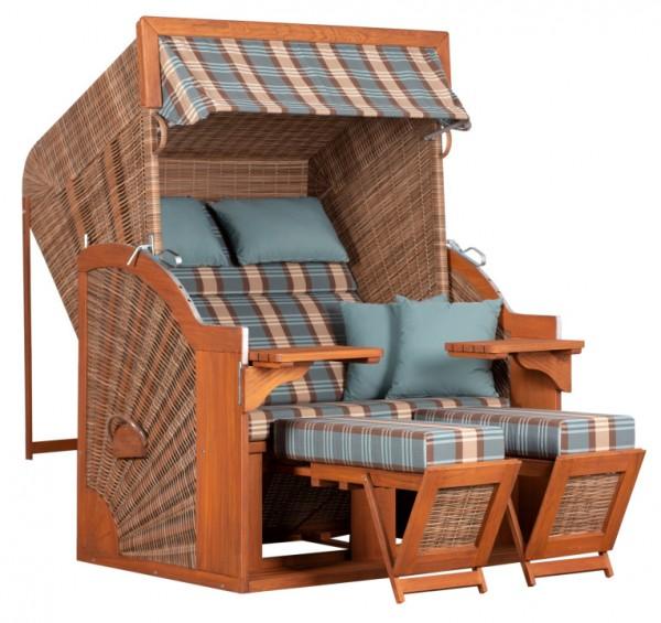 Strandkorb deVries PURE® Comfort XL PE griseum Dessin 436