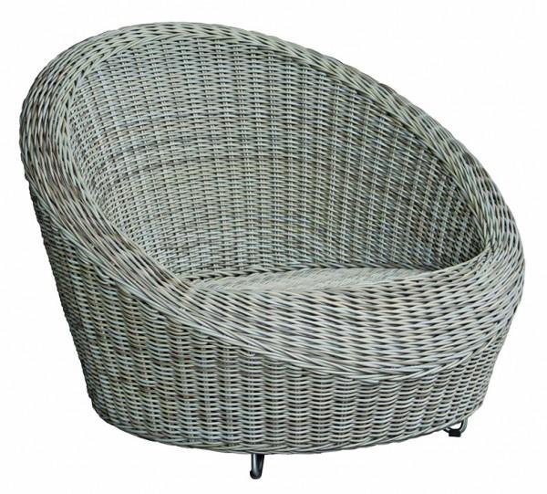 Cordoba Loungesessel 6 mm kubu grey