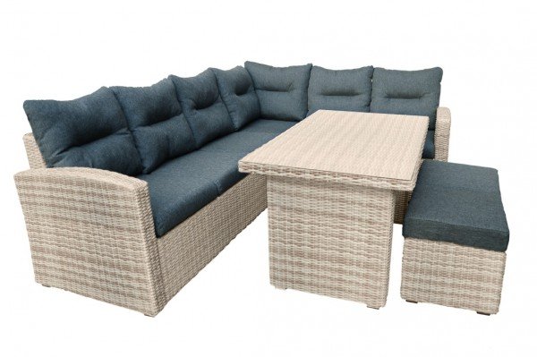 Ferio Loungeset natural sand