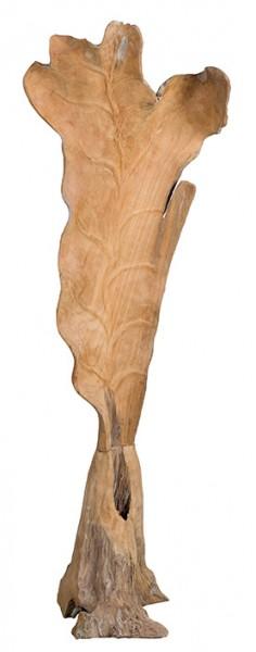 Skulptur getrocknetes Blatt