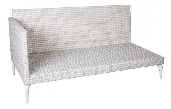 Orchid Loungesitz Endelement links 7mm white wash