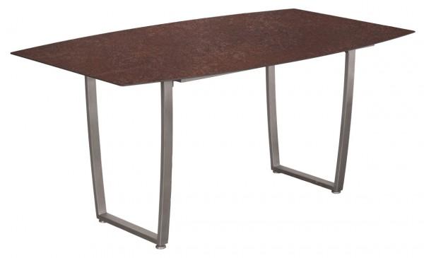 Tisch Willington Edelstahl HPL 150cm x 90cm deVries